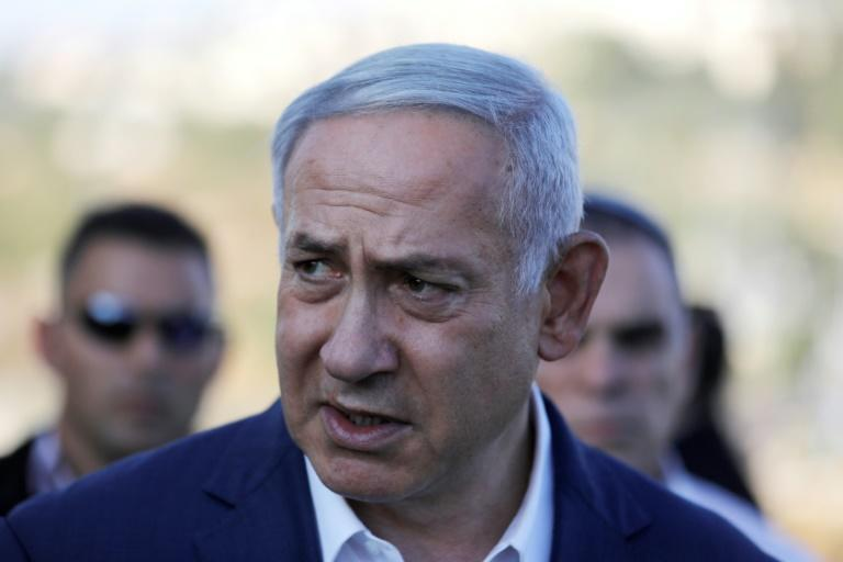 Israeli Prime Minister Benjamin Netanyahu, pictured August 8, warned arch-foe Iran it had no immunity from his state's military