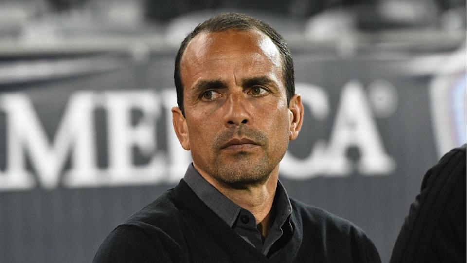 Hold your horses: a report stating that FC Dallas coach Oscar Pareja had met with U.S. Soccer about the men's national team job is inaccurate, according to a source.