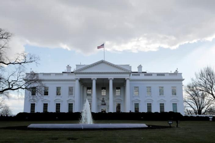 FILE PHOTO: View of the White House