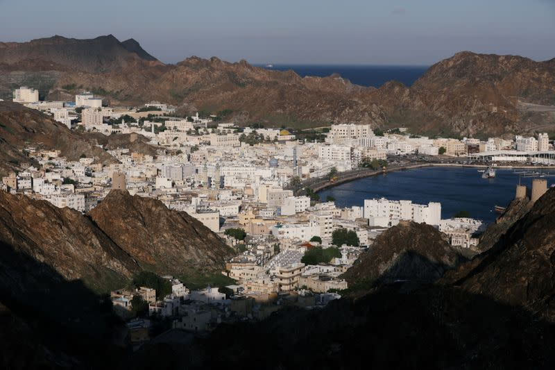 FILE PHOTO: General view of old Muscat the day after Oman's Sultan Qaboos bin Said was laid to rest in Muscat