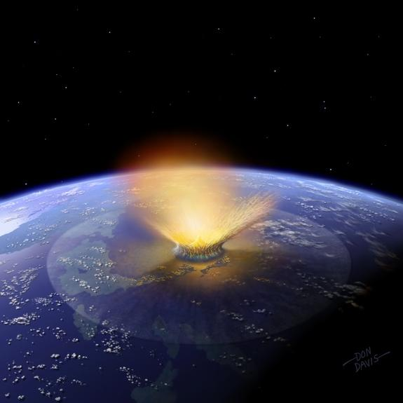 Asteroid Crashes Likely Gave Earth Its Water