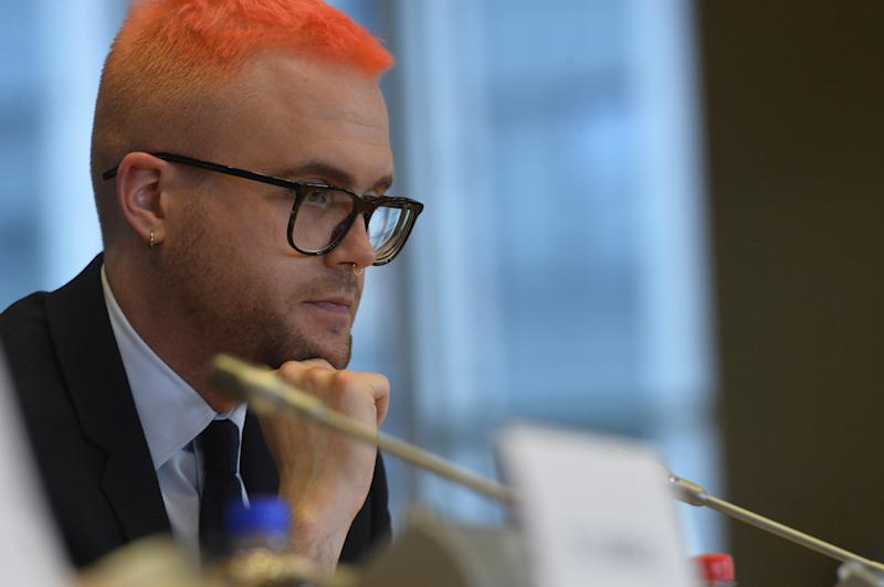 Cambridge Analytica whistleblower Christopher Wylie spoke to MEPs in Brussels More
