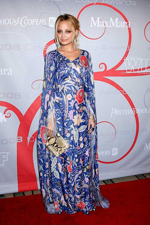 "Somewhere in this giant tapestry is Nicole Richie. Steve Granitz/<a href=""http://www.wireimage.com"" target=""new"">WireImage.com</a> - June 17, 2008"