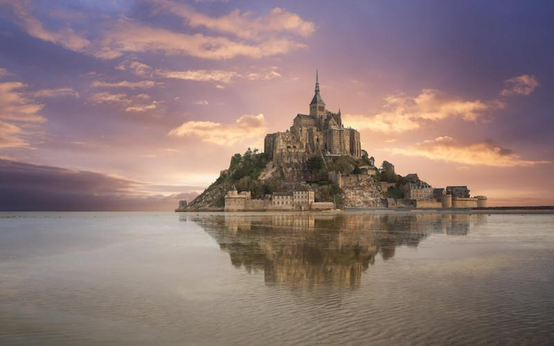 The mesmerising sights of France, such as Mont St Michel in Normany, have inspired writers for centuries, not to mention some 90 million travellers each year - ©2014 PEC