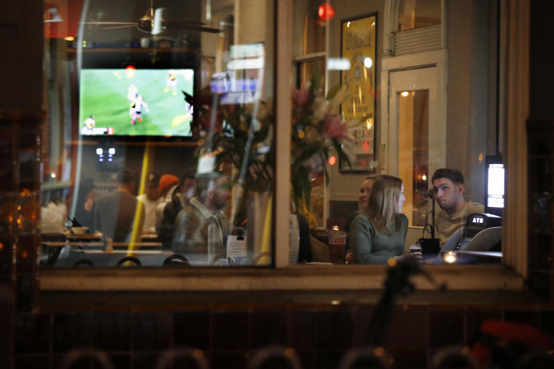 The easing of restrictions will allow for 50 patrons in restaurants, pubs and cafes, providing people maintain social distancing. Source: Getty Images