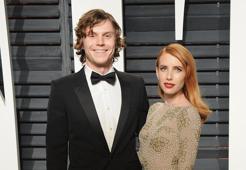 Emma Roberts And Evan Peters Halloween Costume Is A Callback To American Horror Story Coven