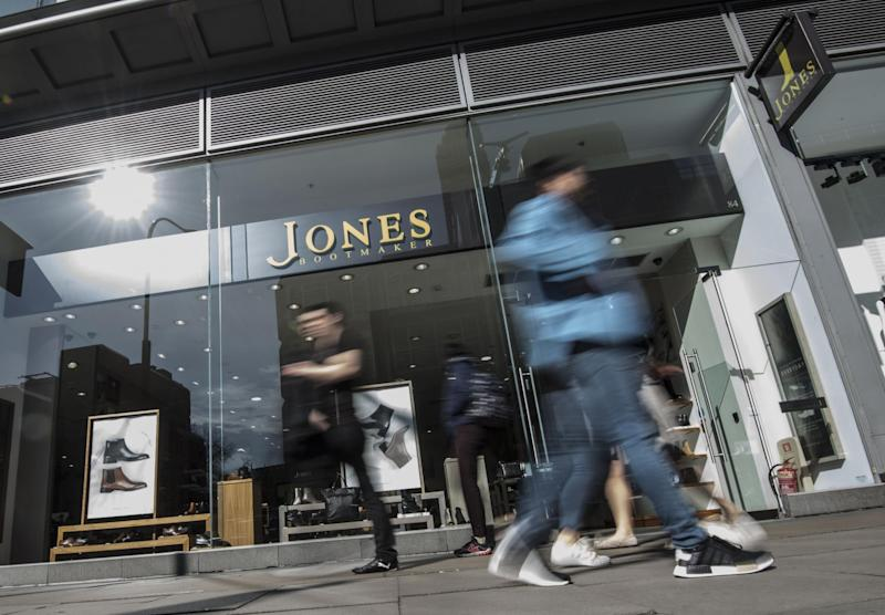 Jones the Bootmaker is among a number of retailers struggling against tough high street conditions: PA