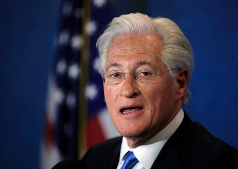 Marc Kasowitz personal attorney of President Donald Trump makes a statement at the National Press Club, following the congressional testimony of former FBI Director James Comey in Washington, June 8, 2017.