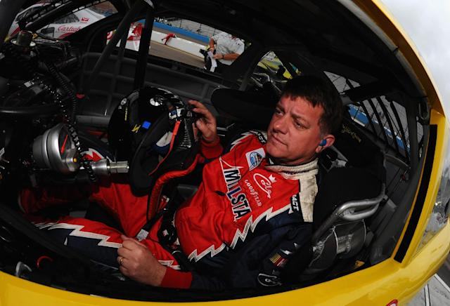 Saturday night's Cup race will be Carl Long's first points race since 2006. (Getty)