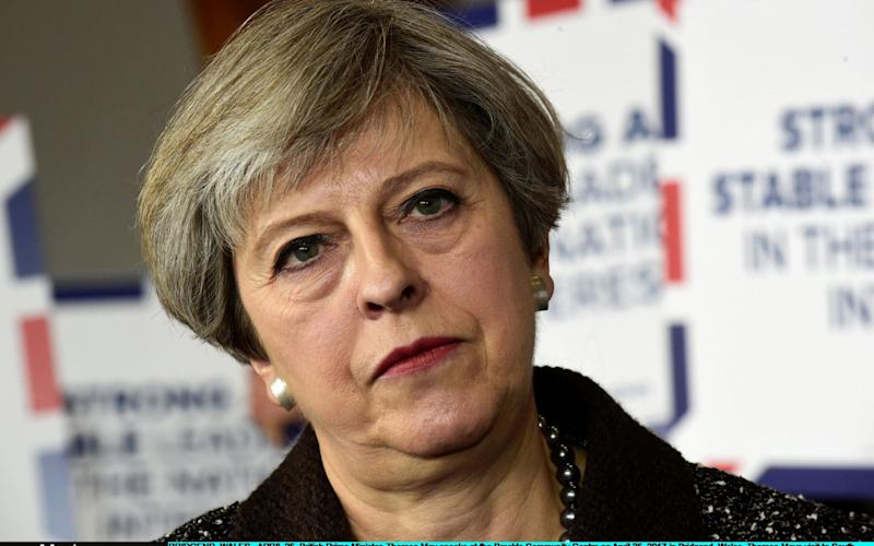 Theresa May, the Prime Minister - Getty Images Europe