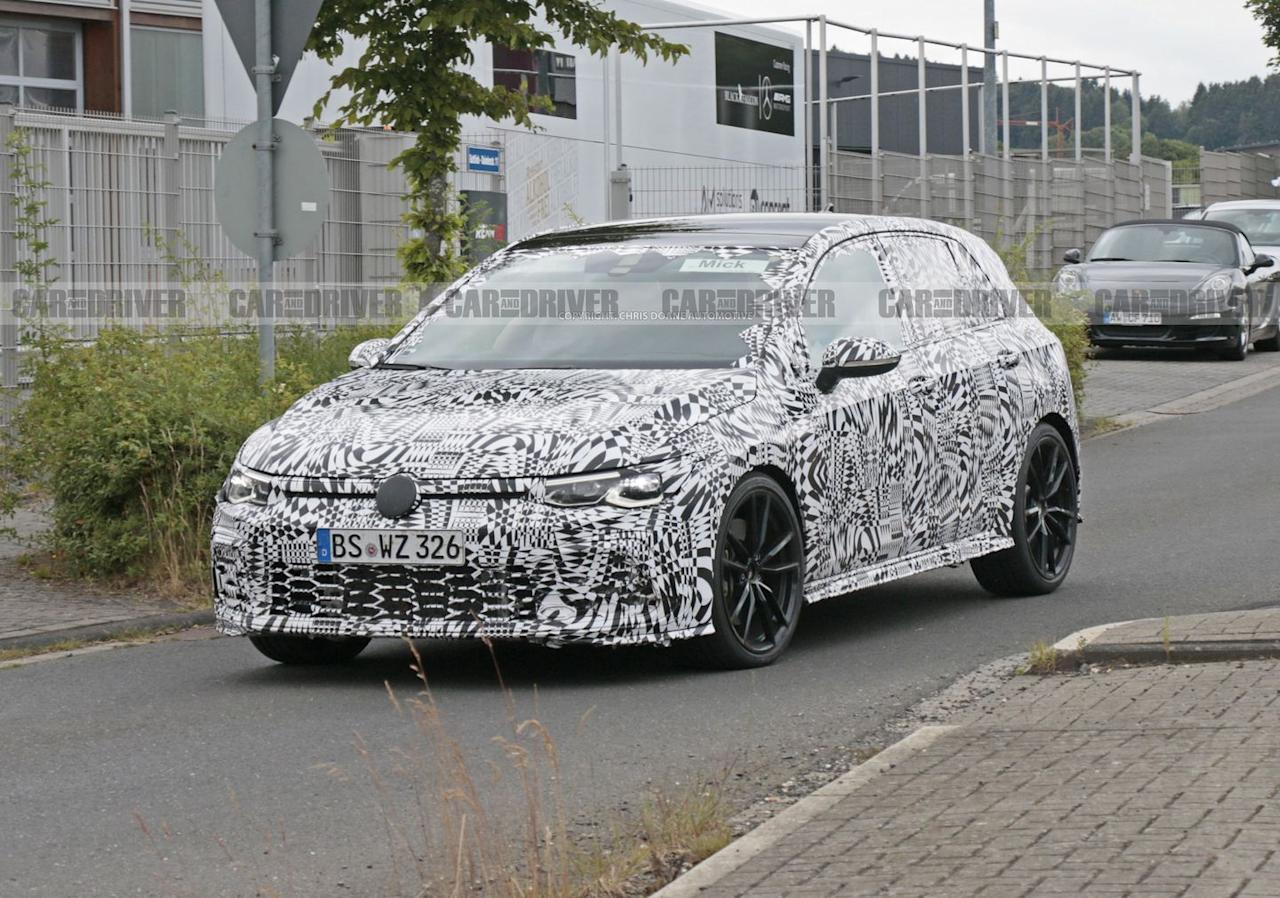 Spy Photos of the 2021 Volkswagen GTI Mark 8
