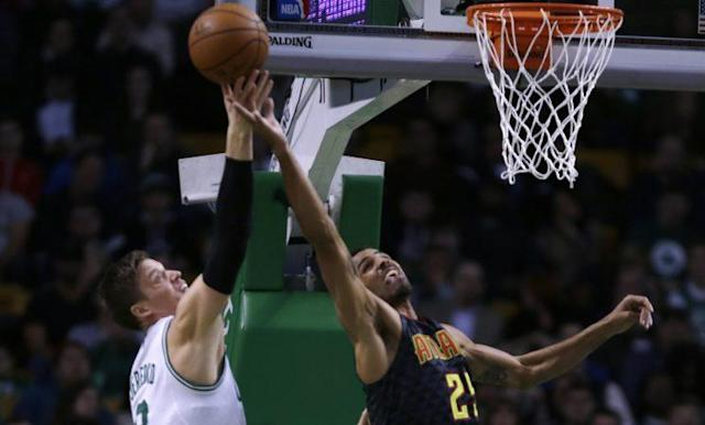 Jonas Jerebko and Thabo Sefolosha may not equal one Gordon Hayward, but they keep Utah's roster flexible. (AP)