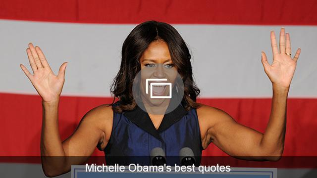 Michelle Obama quotes slideshow