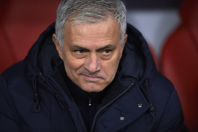 """<a class=""""link rapid-noclick-resp"""" href=""""/soccer/teams/tottenham-hotspur/"""" data-ylk=""""slk:Tottenham"""">Tottenham</a> is off to a good start since firing Mauricio Pochettino and hiring Jose Mourinho (pictured). But not all teams are so fortunate. (Photo by Jose Breton/Pics Action/NurPhoto via Getty Images)"""