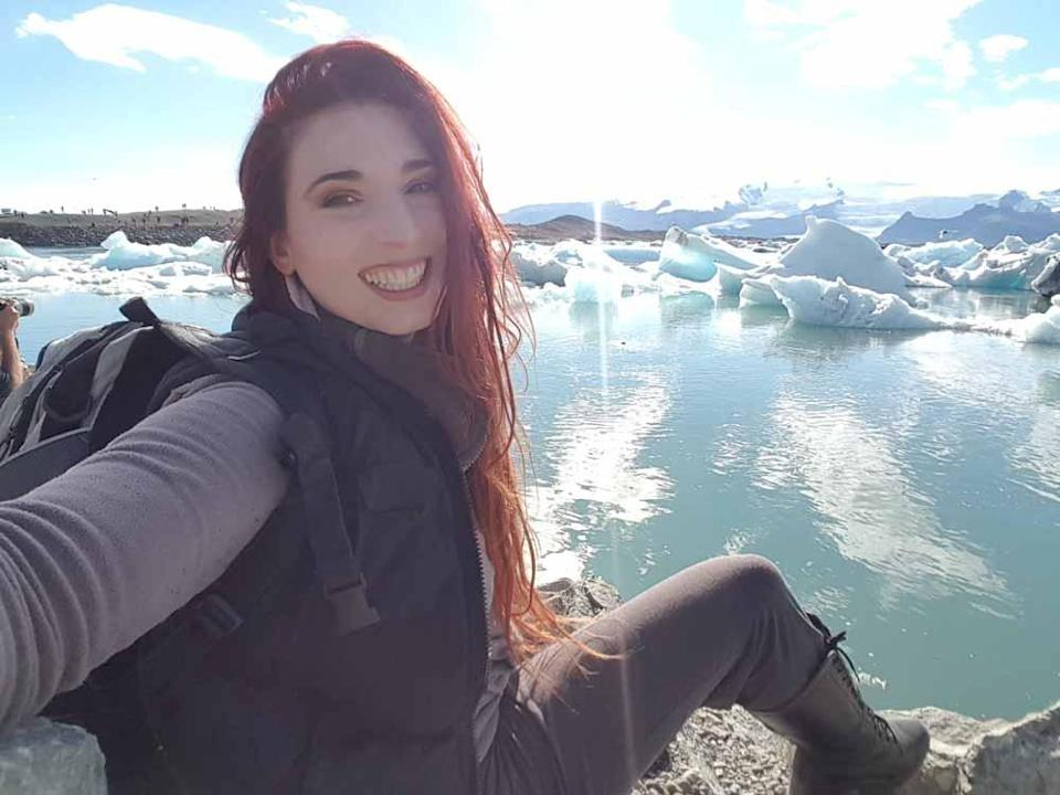 Faith pictured here in Iceland (Collect/PA Real Life).