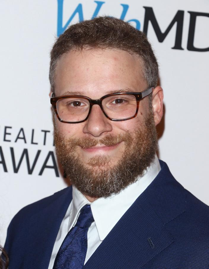 Seth Rogen took to Twitter sharing where a protest was being held.