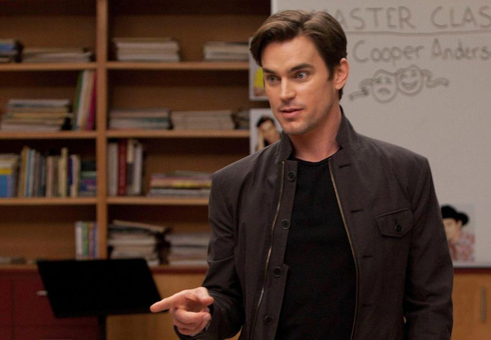 <p>Sometimes big brothers are the best, and sometimes big brothers just want to come to their little brother's school and steal the spotlight from him. Cooper Anderson, Blaine's older brother played by <em>The Boys in the Band </em>and<em> Magic Mike </em>star Matt Bomer, is more of the latter. </p>