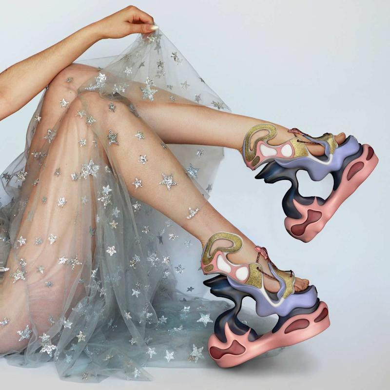 Happy99's out-of-this-world virtual shoes.