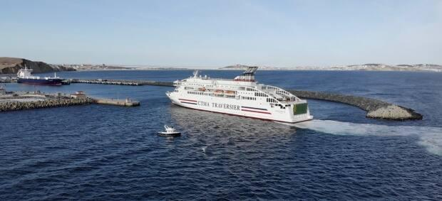 The ferry has previously been used in the Canary Islands and Spain.