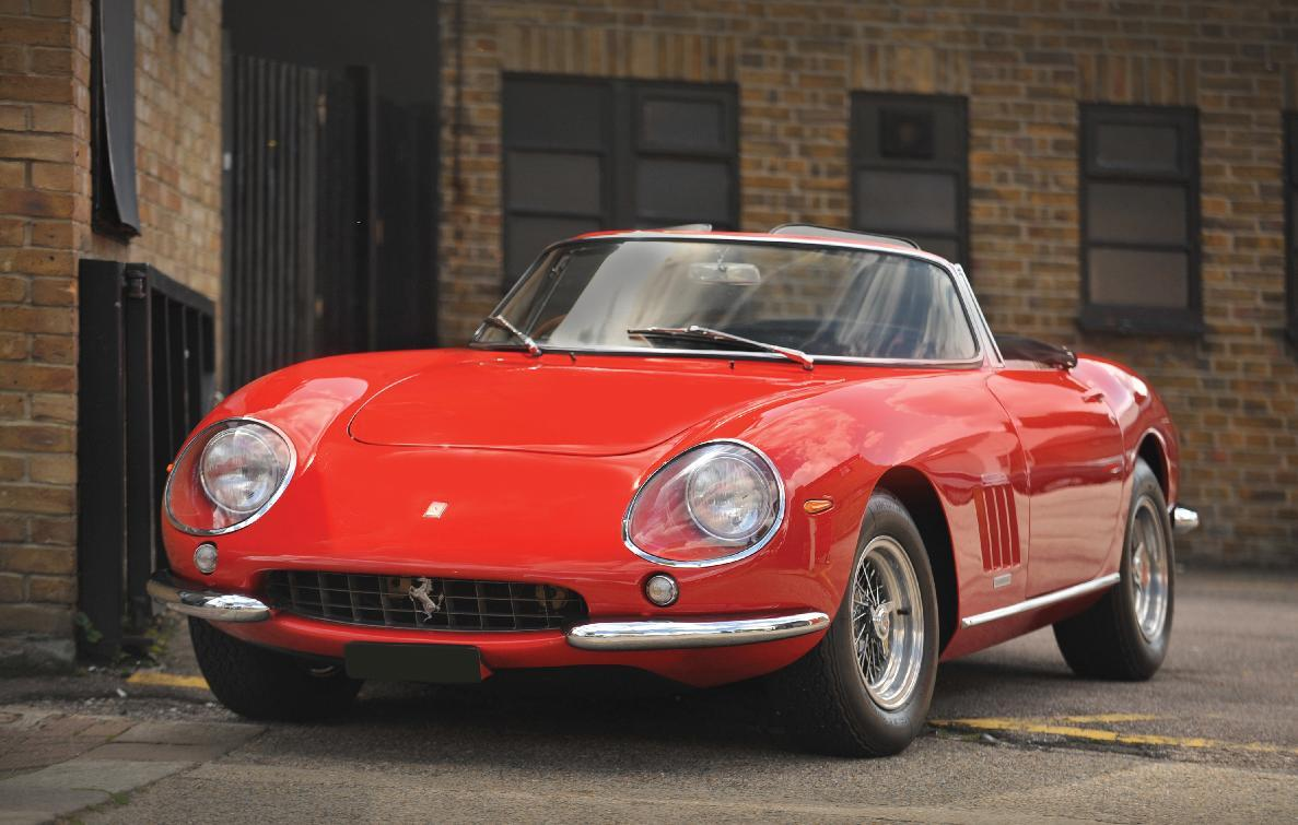 3. 1967 Ferrari 275 GTB/4*S N.A.R.T. Spider - $27.5 million (€20.35 million)