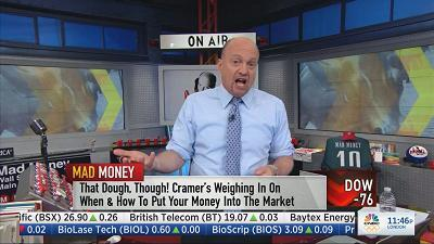 Jim Cramer says investors should be worried when these stocks start to rally. It could signal a slowdown, or even a recession.