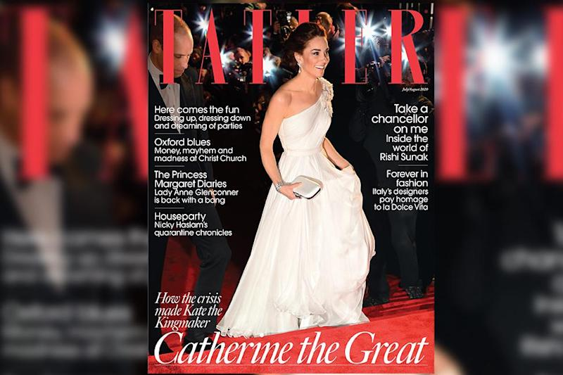 Tatler magazine's 'Catherine the Great' issue. Photo: Tatler magazine