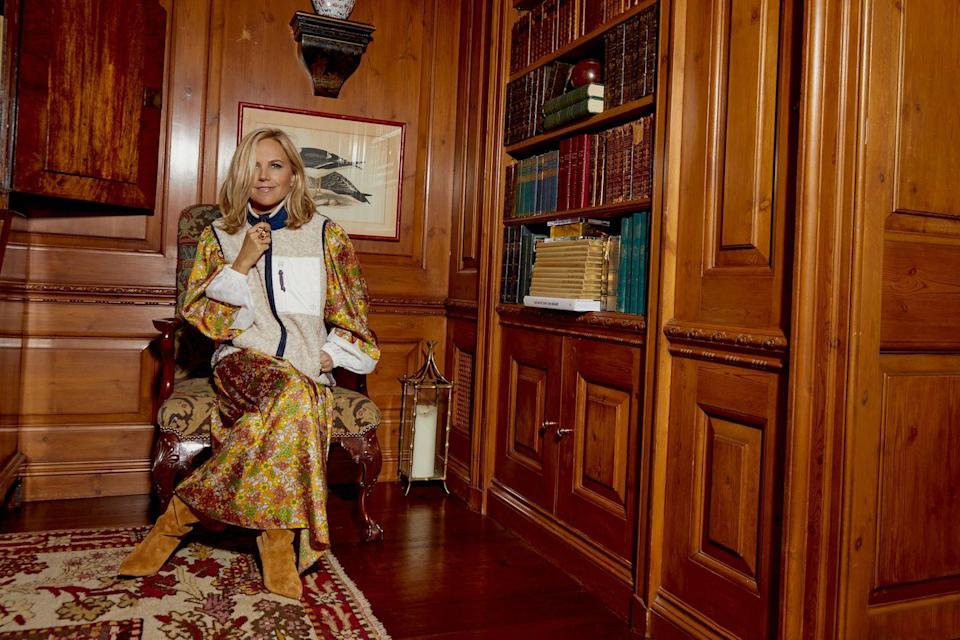 <p>Tory Burch in the capsule collection.</p>