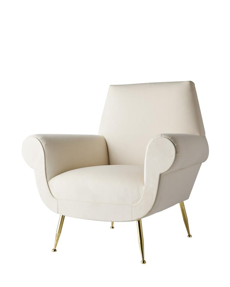 What makes a furniture line by an interior designer so great is the fact that they know exactly what is missing in the market. Always on the hunt for the perfect piece, Texas-based designer Jan Showers decided to produce a collection of furniture that she was having difficulty finding anywhere else. The Chela chair, shown above, is one of 15 pieces in her new 1308 collection.