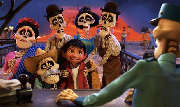 "The cast of ""Coco."""