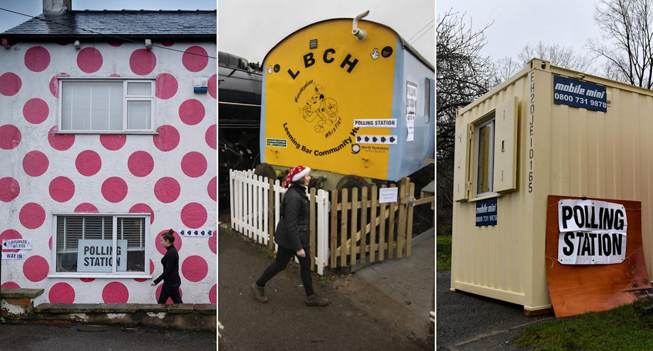 Britain's strangest polling stations