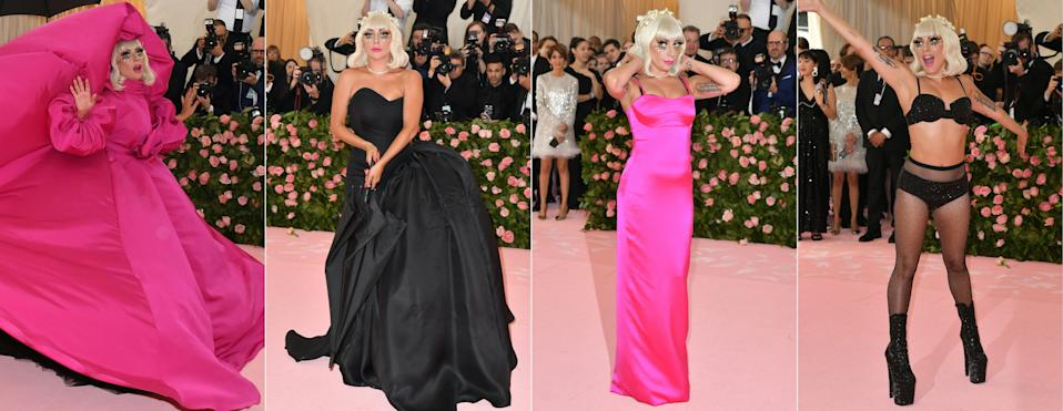 """<h1 class=""""title"""">Gaga At Gala</h1><cite class=""""credit"""">Photo: Getty Images</cite>"""