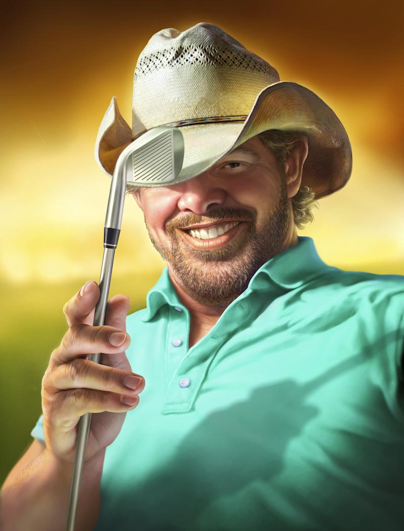 Golfers Who Give Back: Toby Keith answers a calling with OK Kids Korral