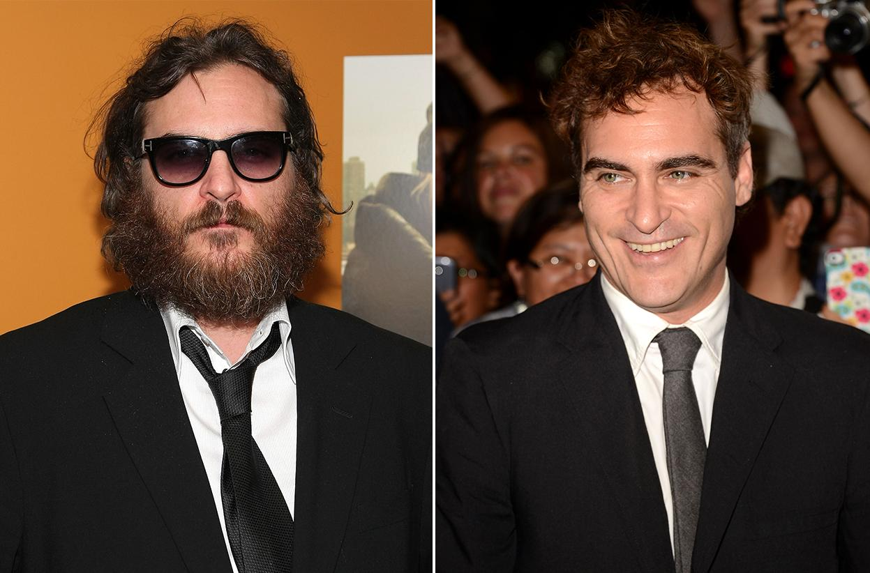 "Joaquin Phoenix was once hardly recognizable behind the dark shades and overgrown facial hair. These days, the beard is gone and the actor will hit the red carpet as a nominee for ""The Master."""
