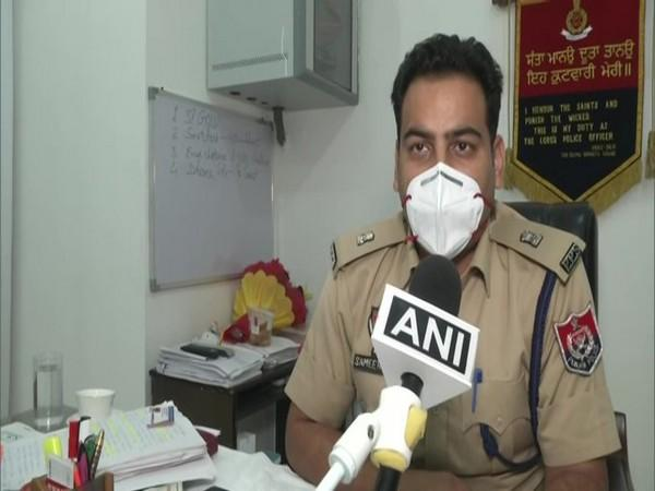 Sameer Verma, Additional Deputy Commissioner of police speaking to ANI on Saturday. Photo/ANI