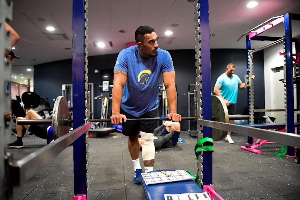 """All Black Jerome Kaino will bring his """"willingness to work"""" to Toulouse for two seasons (AFP Photo/Martin BUREAU)"""