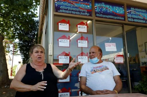 Perri Ben Senior and her husband Shouki are confident that annexation will be a boon for their real estate estate business in the West Bank settlement of Ariel