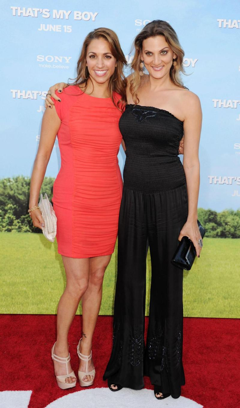 Comedians, Dana Goodman and Julia Wolov, pictured here in 2012, said Louis