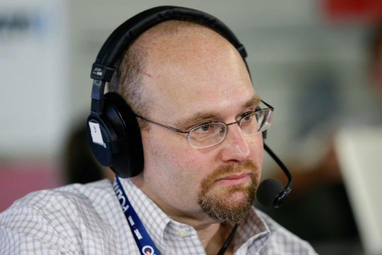 "The New York Times has suspended Glenn Thrush, pictured in July 2016, following allegations of sexually inappropriate behavior that the newspaper said were ""very concerning"""
