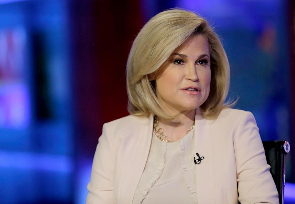 Goldman Sachs executive Heidi Cruz, pictured in 2016 on Fox News during her husband Ted Cruz's unsuccessful presidential run.  (Getty Images)