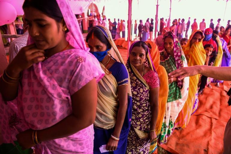 The election comes as India, the world's second most-infected nation, has recorded almost eight million virus cases