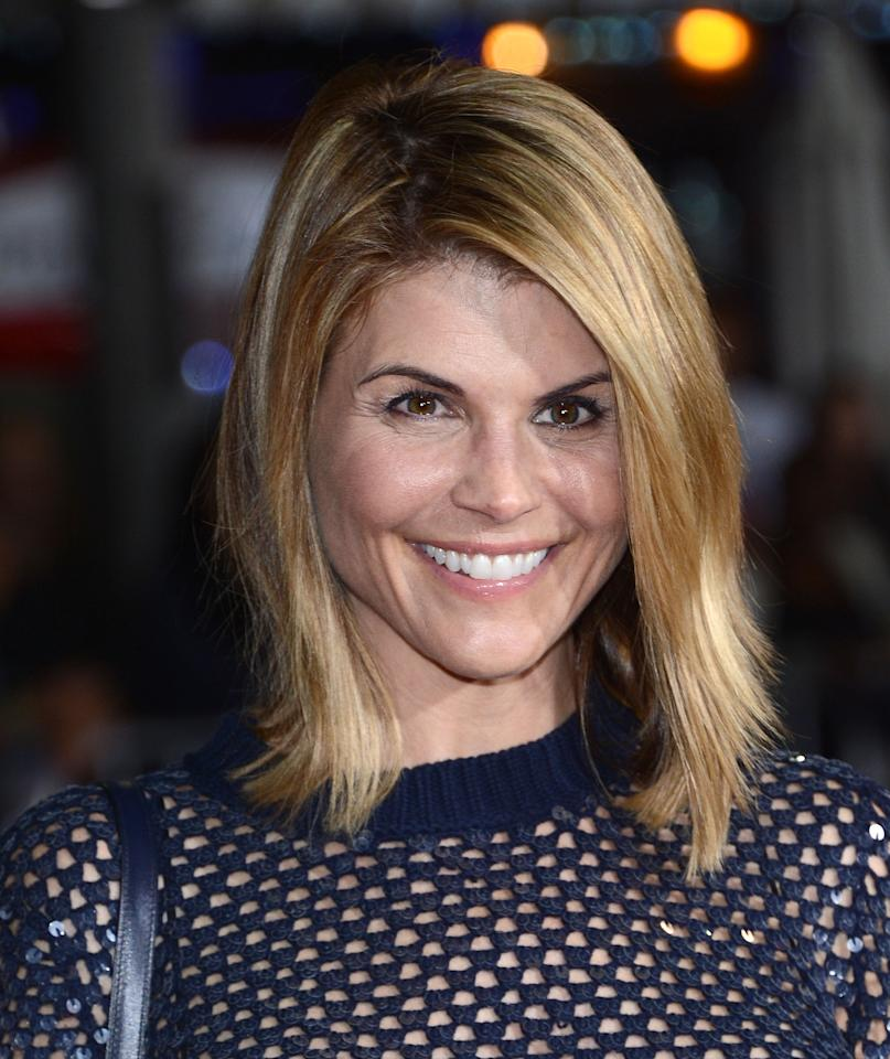 "WESTWOOD, CA - FEBRUARY 04:  Actress Lori Loughlin attends the Premiere Of Universal Pictures' ""Identity Theft"" on February 4, 2013 in Westwood, California.  (Photo by Jason Kempin/Getty Images)"
