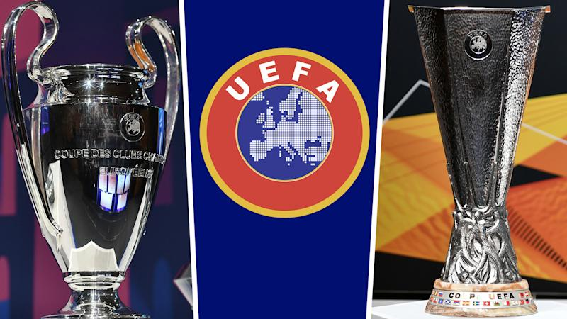 Champions League and Europa League last-16 venues confirmed by UEFA