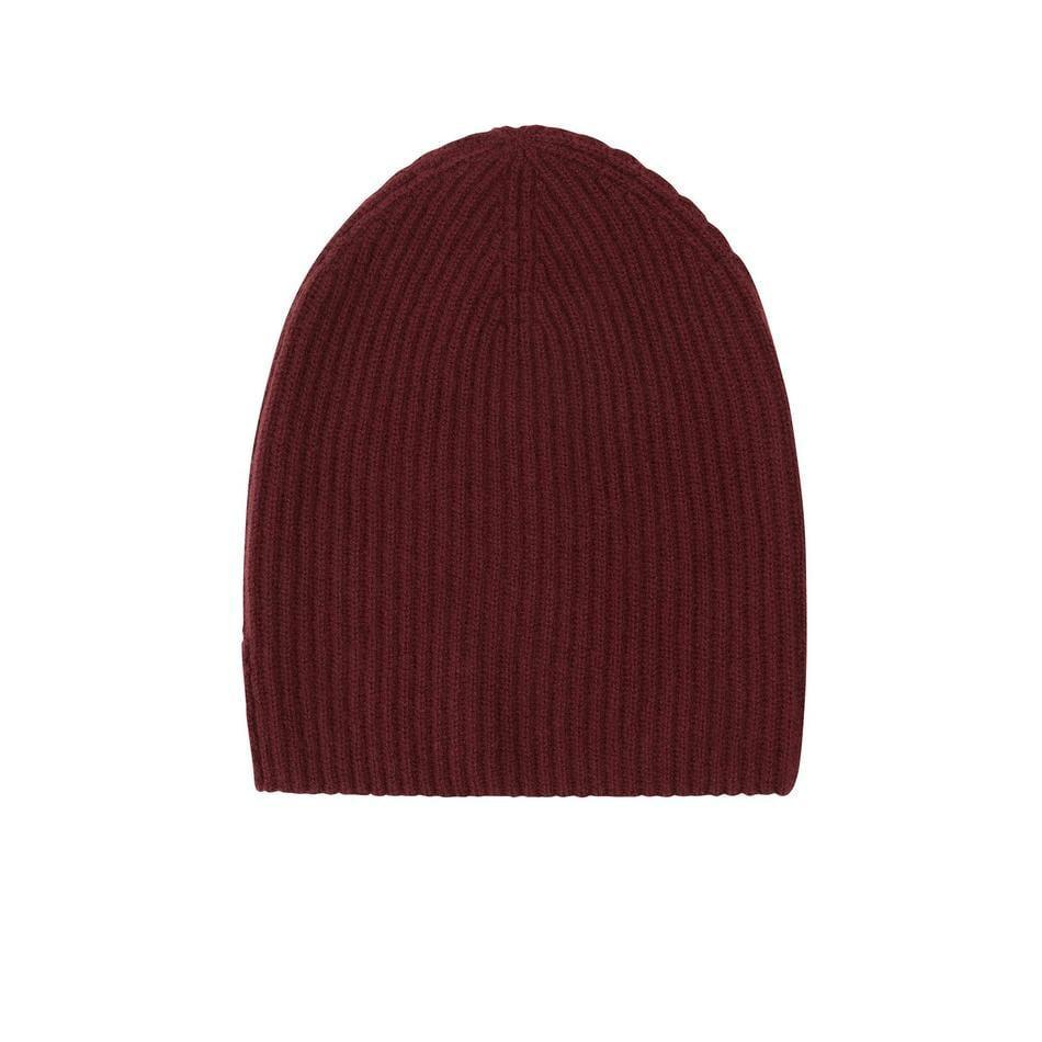 <p>This <span>Naadam Signature Ribbed Cashmere Beanie</span> ($75) comes in a bunch of cute colors, but we love this deep red.</p>