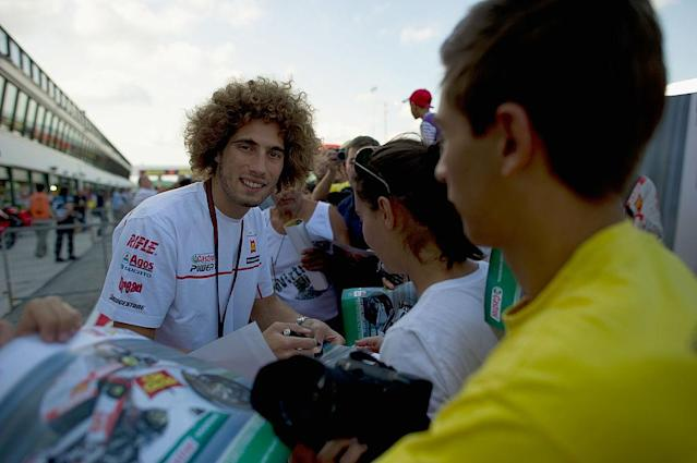 Marco Simoncelli (Getty)