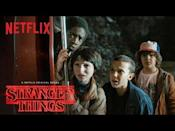 """<p>Sure, <em>Stranger Things </em>is a mostly a light-hearted, happy-go-lucky story of some kiddos who like playing D&D and getting into trouble. But there's scary stuff too! The Mind Flayer never fails to give us a fright, at least.</p><p><a class=""""link rapid-noclick-resp"""" href=""""https://www.netflix.com/title/80057281"""" rel=""""nofollow noopener"""" target=""""_blank"""" data-ylk=""""slk:Watch Now"""">Watch Now</a></p><p><a href=""""https://www.youtube.com/watch?v=b9EkMc79ZSU"""" rel=""""nofollow noopener"""" target=""""_blank"""" data-ylk=""""slk:See the original post on Youtube"""" class=""""link rapid-noclick-resp"""">See the original post on Youtube</a></p>"""