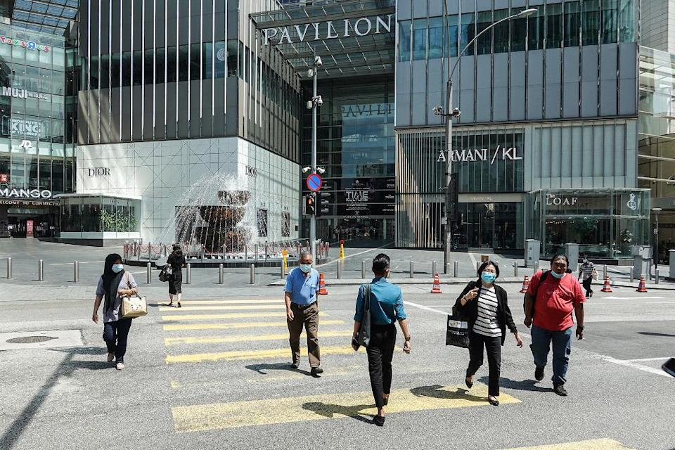 A general view of the streets during the conditional movement control order (CMCO) in Kuala Lumpur on October 20, 2020. — Picture by Miera Zulyana