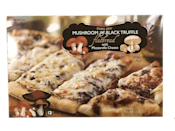 <p>The flatbreads without a doubt take down the pizzas, as proven by this UNREAL mushroom truffle number. It's a true struggle to not add one of these to my cart every time I shop at TJ's.</p>