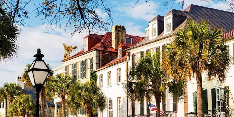 """<p><strong>Best for Southern Charm</strong></p><p><a href=""""https://www.bestproducts.com/fun-things-to-do/g3002/trendy-things-to-do-in-charleston-sc/"""" rel=""""nofollow noopener"""" target=""""_blank"""" data-ylk=""""slk:Charleston"""" class=""""link rapid-noclick-resp"""">Charleston</a> teems with antebellum mansions, horse-drawn carriages, and historic plantations, like nearby <a href=""""https://go.redirectingat.com?id=74968X1596630&url=https%3A%2F%2Fwww.tripadvisor.com%2FAttraction_Review-g54171-d144683-Reviews-Middleton_Place-Charleston_South_Carolina.html&sref=https%3A%2F%2Fwww.countryliving.com%2Flife%2Fg37186621%2Fbest-places-to-experience-and-visit-in-the-usa%2F"""" rel=""""nofollow noopener"""" target=""""_blank"""" data-ylk=""""slk:Middleton Place"""" class=""""link rapid-noclick-resp"""">Middleton Place</a>, but it also has boutique hotels, craft breweries, and culinary hotspots like <a href=""""https://go.redirectingat.com?id=74968X1596630&url=https%3A%2F%2Fwww.tripadvisor.com%2FRestaurant_Review-g54171-d1943833-Reviews-Husk_Restaurant-Charleston_South_Carolina.html&sref=https%3A%2F%2Fwww.countryliving.com%2Flife%2Fg37186621%2Fbest-places-to-experience-and-visit-in-the-usa%2F"""" rel=""""nofollow noopener"""" target=""""_blank"""" data-ylk=""""slk:Husk"""" class=""""link rapid-noclick-resp"""">Husk</a> and <a href=""""https://go.redirectingat.com?id=74968X1596630&url=https%3A%2F%2Fwww.tripadvisor.com%2FRestaurant_Review-g54171-d6576611-Reviews-Zero_Restaurant_Bar-Charleston_South_Carolina.html&sref=https%3A%2F%2Fwww.countryliving.com%2Flife%2Fg37186621%2Fbest-places-to-experience-and-visit-in-the-usa%2F"""" rel=""""nofollow noopener"""" target=""""_blank"""" data-ylk=""""slk:Zero Restaurant & Bar"""" class=""""link rapid-noclick-resp"""">Zero Restaurant & Bar</a>, which are helmed by chefs adding creative spins to traditional Southern dishes.</p><p><strong><em>Where to Stay:</em></strong> <a href=""""https://go.redirectingat.com?id=74968X1596630&url=https%3A%2F%2Fwww.tripadvisor.com%2FHotel_Review-g54171-d225044-Reviews-French_Quarter_Inn-Charleston_South_Carolina.html&"""