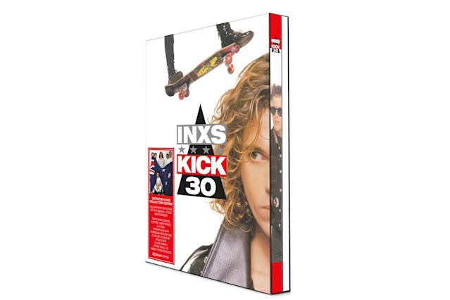 <p>This DVD-sized package features the Australian band's most popular album and arrives exactly 20 years after the death of frontman Michael Hutchence. Along with the original version of the album, B-sides, and alternate mixes, the entire album has been mixed in Dolby Atmos by Giles Martin (son of legendary Beatles producer George Martin and the man behind the recent 50th-anniversary remix of <em>Sgt. Pepper's</em>) and Sam Okell at Abbey Road Studios. The Dolby Atmos mix, which promises an immersive, 3D-like listening experience, is featured on a Blu-ray disc along with the band's videos. This set shows just how good the band and Hutchence were in their prime. It's a shame it didn't last. (Photo: Petrol Records) </p>