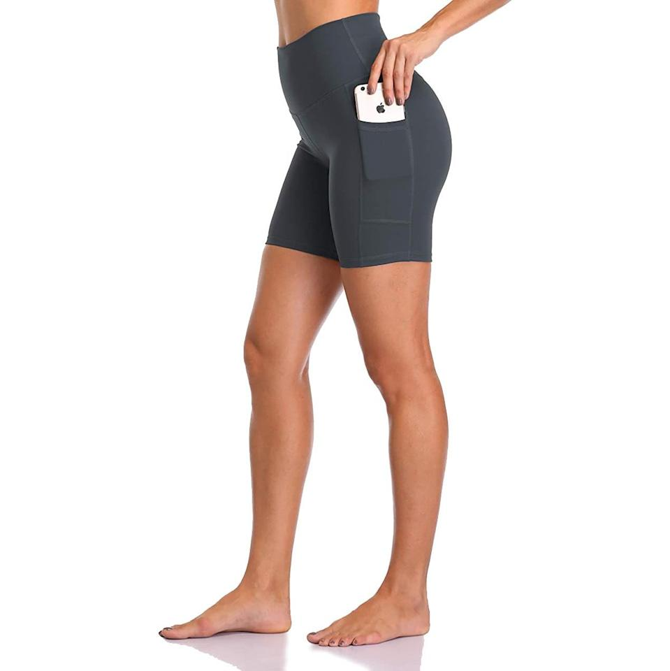"""""""I bought these affordable Colorfulkoala shorts on Amazon after reading the impressive reviews, and I'm not disappointed. They're a great Lululemon dupe and offer just the right amount of comfort and support for outdoor runs. They don't ride up, and they feature a convenient side pocket for my phone and house key. Plus, they're great for yoga, cycling, HIIT, and even WFH life."""" - <em>K.C.</em> $20, Amazon. <a href=""""https://www.amazon.com/gp/product/B07R3RN8HD/ref=ppx_yo_dt_b_asin_title_o09_s00?ie=UTF8&psc=1"""" rel=""""nofollow noopener"""" target=""""_blank"""" data-ylk=""""slk:Get it now!"""" class=""""link rapid-noclick-resp"""">Get it now!</a>"""